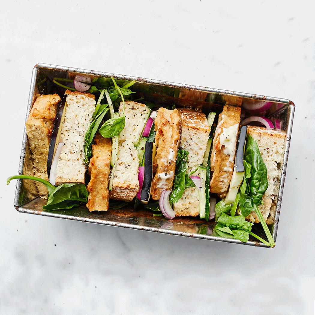 Steak-Sandwich-vierkant